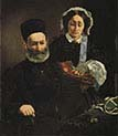 Mr and Mrs Auguste Manet